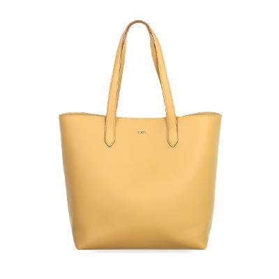 shoulder shopper bag yellow